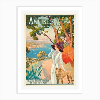Antibes, France Art Print