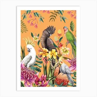 Floral Paradiso Art Print
