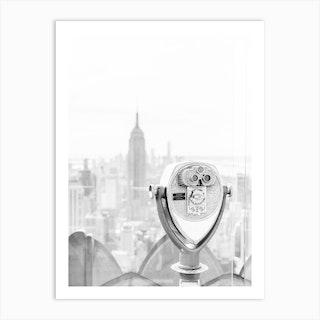 New York City Skyline 1 Art Print