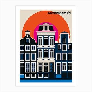 Amsterdam 69 Art Print