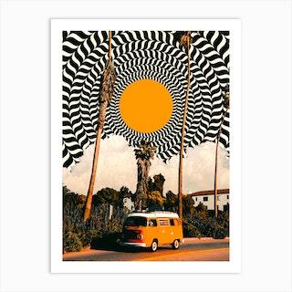 Van Life Art Print