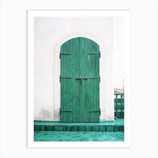 Le Jardin Secret Marrakech Art Print