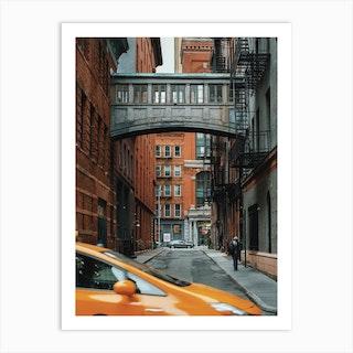 Tribeca Bridge Art Print