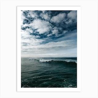Surfing Ocean Beach San Diego II Art Print