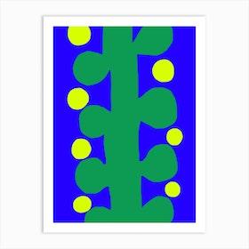Plant Stalk Art Print