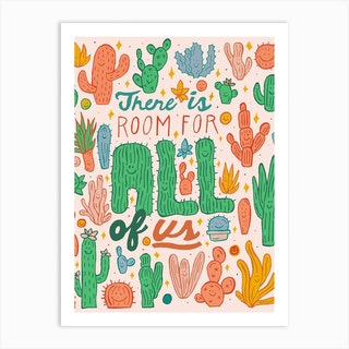 Room For All Art Print
