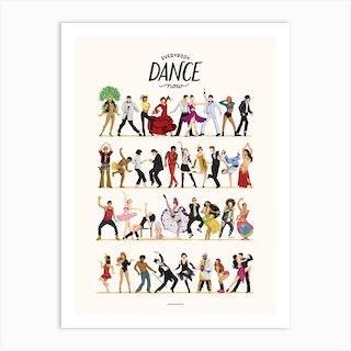 Everybody Dance Now Art Print