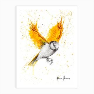 Tiger Wings Bird Art Print