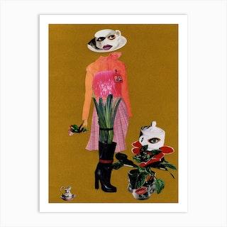 Miss Potts Art Print