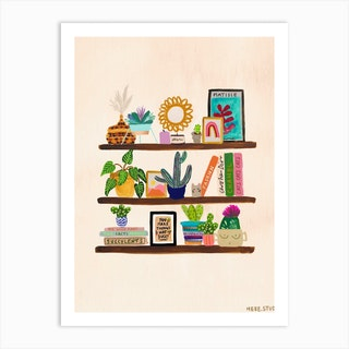 You Make Things Not Succulent Art Print