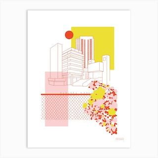 Brutalist Architecture Art Print