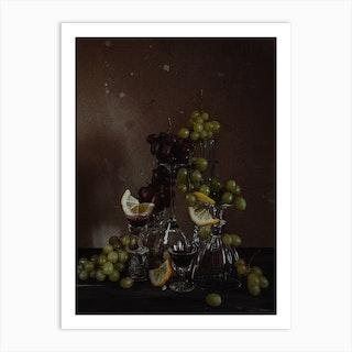 Wine Affair Art Print