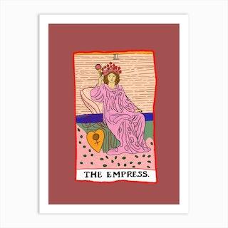 The Empress Tarot Art Print