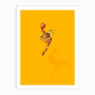 Frequent Fliers Kobe Art Print