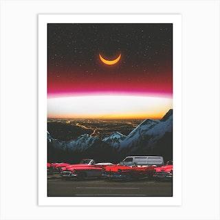 Beyond The Night Art Print