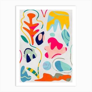Minimal Matisse 5 Art Print