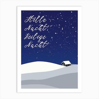 Stille Nacht Art Print