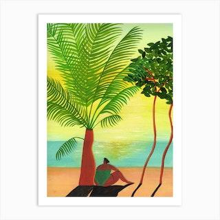 Mango Sunshine Art Print