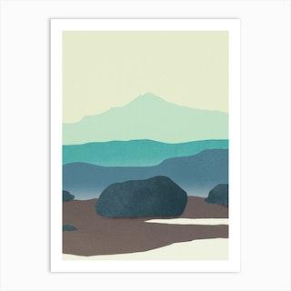 Qaqa Art Print