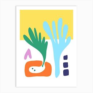 Morning Vegetable Garden Art Print