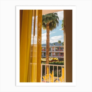 Palm Springs Dreams Art Print