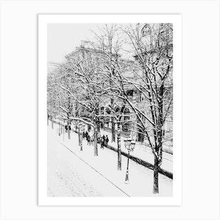 Streets Of Paris 1 Art Print