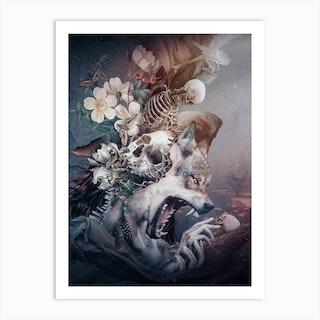 Wolf 2 Art Print
