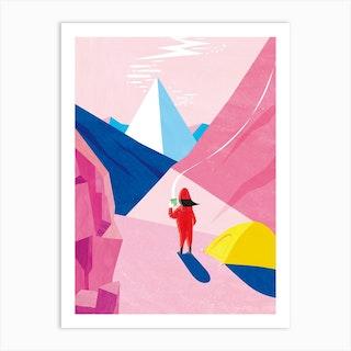 Mountain Time Art Print