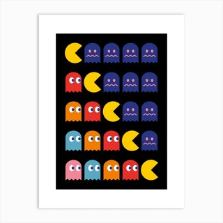 8 Bits Art Print