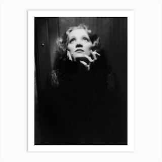 Shanghai Express By Josef Von Sternberg With Marlene Dietrich Art Print