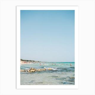 Summer In Italy 1 Art Print