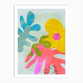 Minimal Matisse 2 Art Print