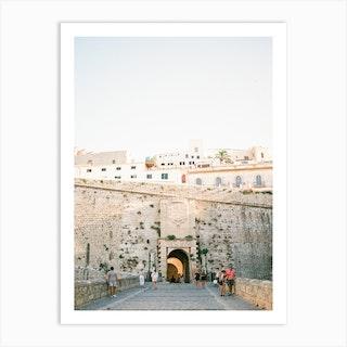 Entrance Of Eivissa Ibiza 2 Art Print