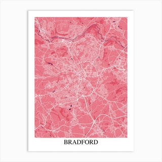 Bradford Pink Purple Art Print