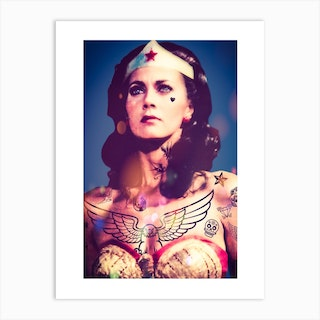 Wonder Woman 1 Art Print