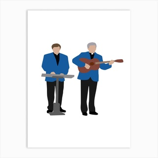 Father Ted Eurovision Art Print