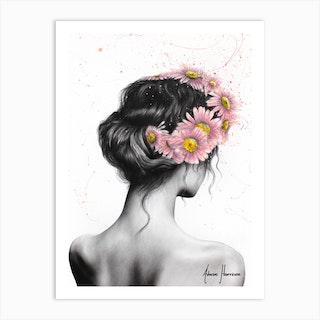 Her Fields Art Print
