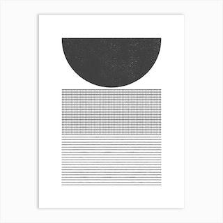 Nz Geometrics 08 Art Print