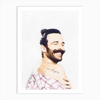 Jonathan Van Ness Art Print