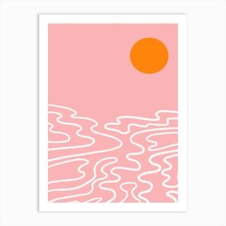 The Sun And The Sea Art Print