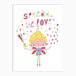 Spead The Love Art Print