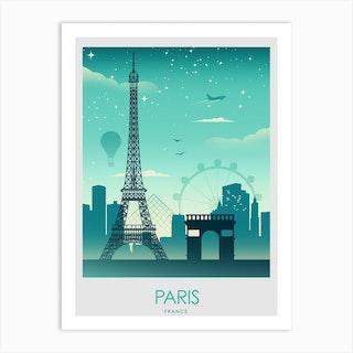 Paris France  Art Print