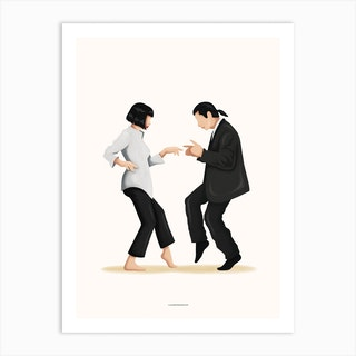 Pulp Fiction Art Print