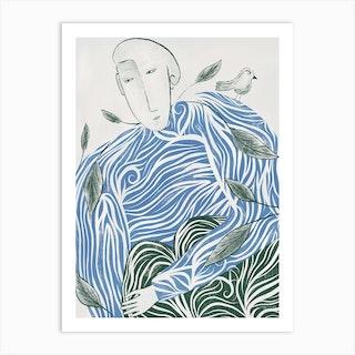L'Homme Arbre Art Print