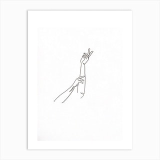 Goosebumps Art Print
