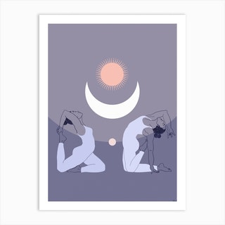 Moon Power Art Print
