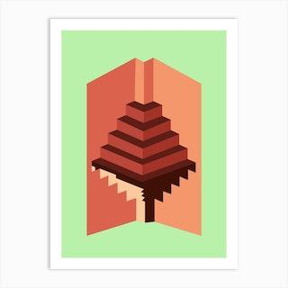 Impossible Geometry Art Print