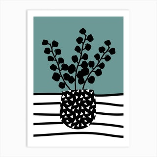 Eucalyptus Green Art Print