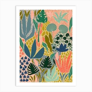 A Full Garden Art Print