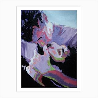 Purple Kiss Art Print